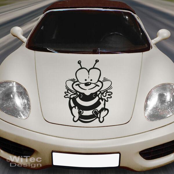 Auto Aufkleber Biene Motorhauben Sticker