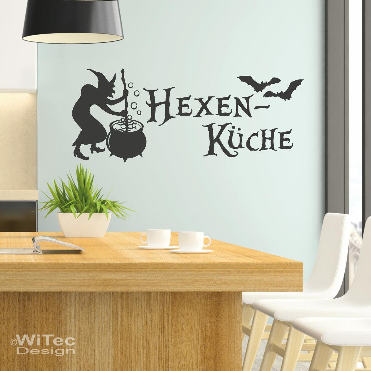 Wandtattoo Hexenküche Aufkleber Hexen Küche Wandaufkleber