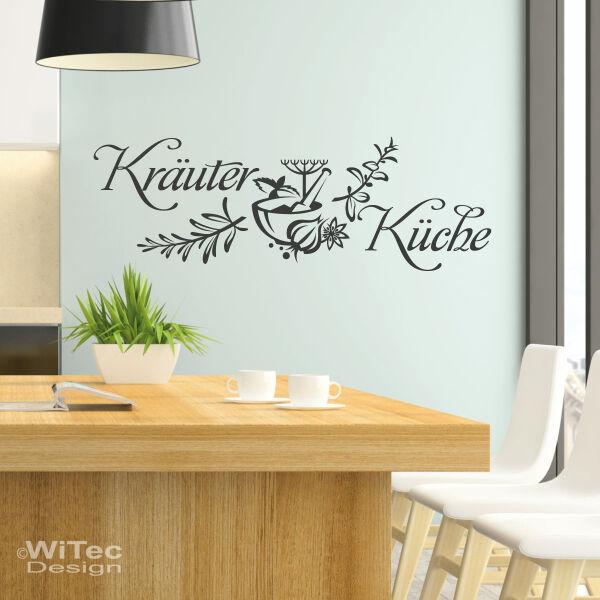 Wandaufkleber Wandtattoo Kräuter Küche Wandfolie