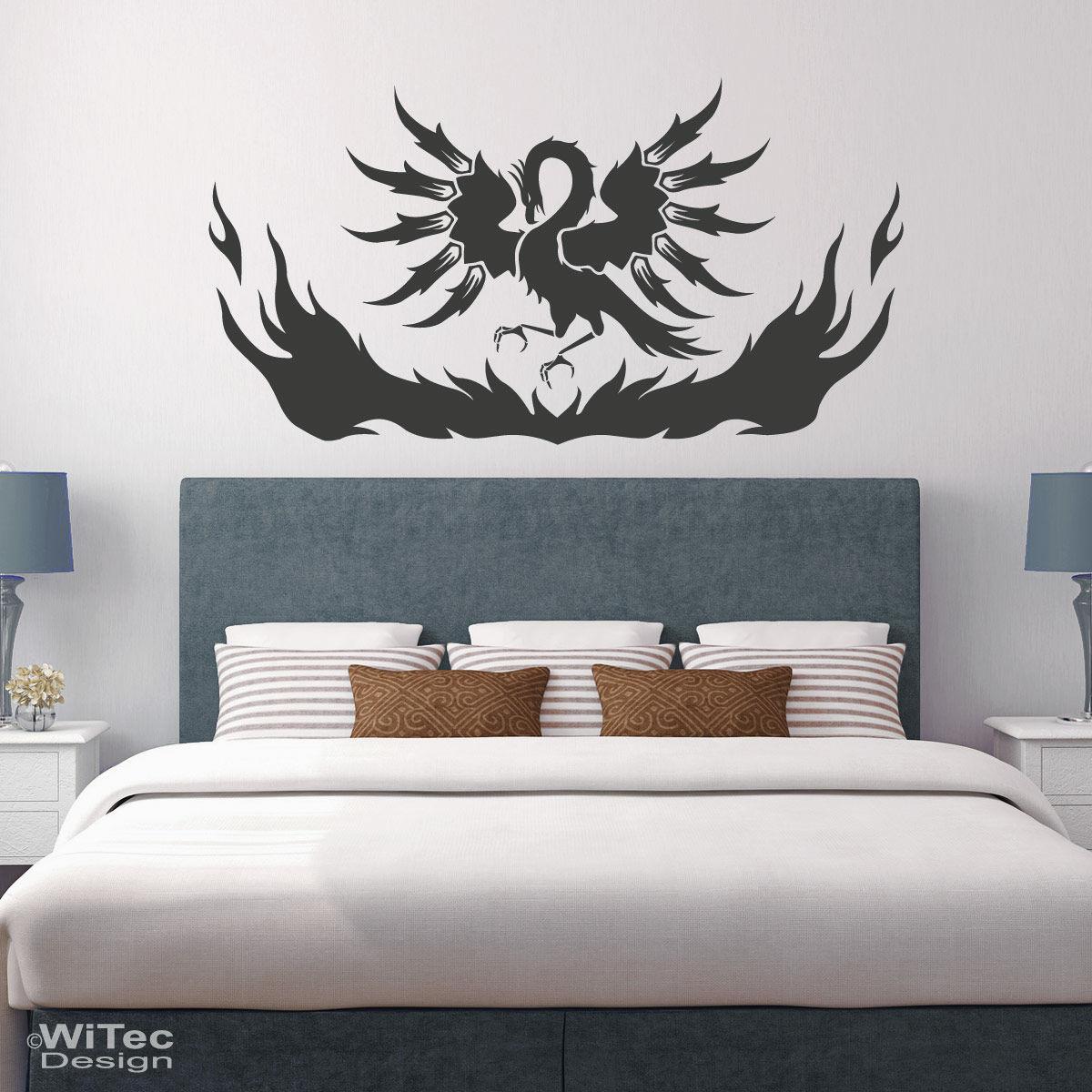 Phönix Wandaufkleber Schlafzimmer Aufkleber