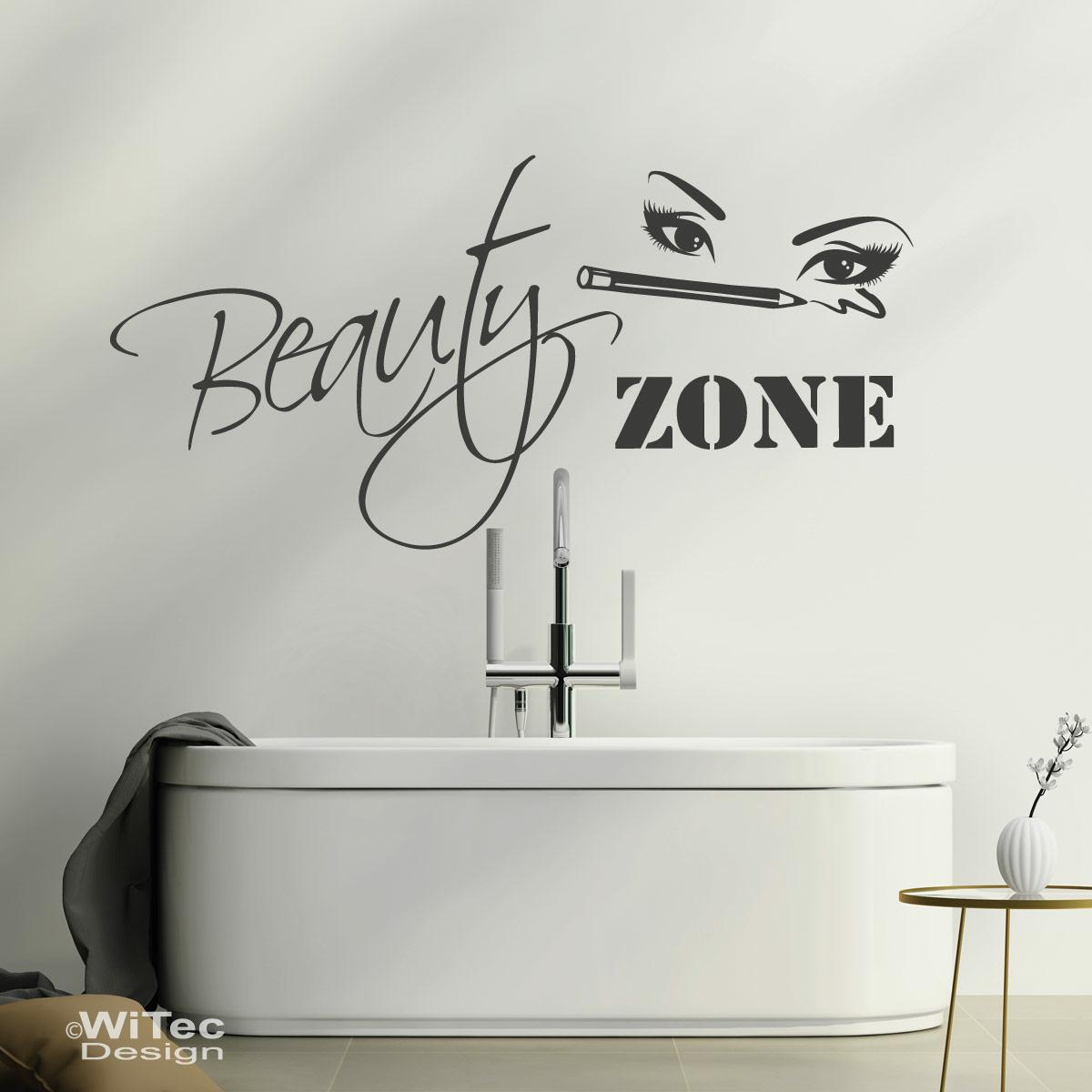 Beauty Zone Wandaufkleber Badezimmer