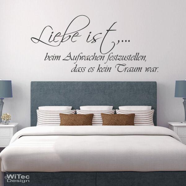 Genial Schlafzimmer Wandtattoo