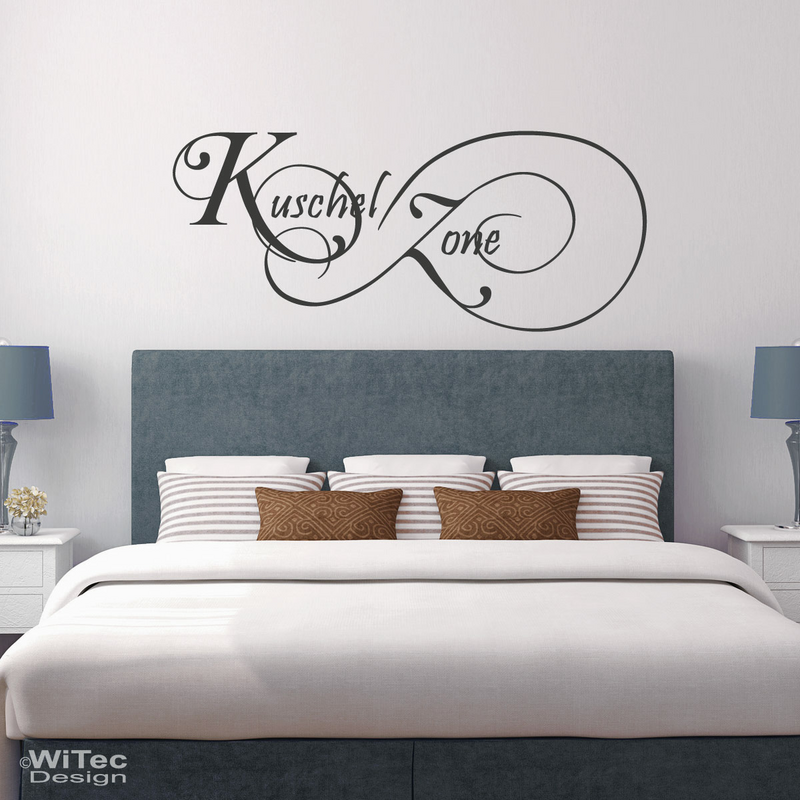 wandaufkleber kuschelzone wandtattoo. Black Bedroom Furniture Sets. Home Design Ideas