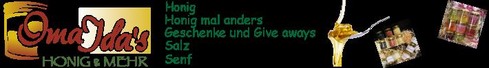 www.oma-ida.de - Honigspezialitäten
